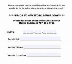 General Fax Cover Sheet Sample General Fax Cover Sheet 10 Documents In Pdf Word