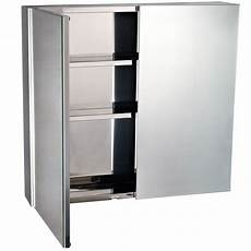 Homcom 4 Tier Stainless Steel Wall Mounted Medicine Cabinet by Homcom 22 Quot Stainless Steel Doored Wall Mounted