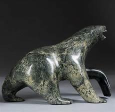 carving soapstone inuit soapstone carved polar