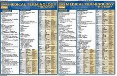 Quickstudy Medical Terminology Basics And Body Free