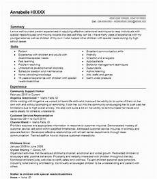Community Service Worker Resume Community Support Worker Samples Resumes Livecareer Com