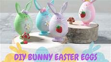diy bunny easter eggs craft for