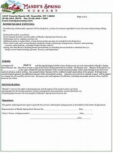 Letters Of Agreement Templates Letter Of Agreement Design