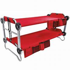 disc o bed youth kid o bunk benchable cing cot with