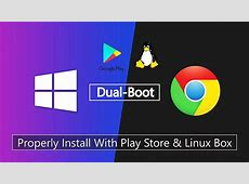 How to Dual Boot Chrome OS on PC or Laptop Alongside