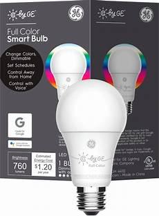 Type C Light Bulb C By Ge A19 Bluetooth Smart Led Light Bulb Multicolor