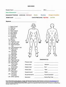 Blank Body Chart Body Check Form Fill Online Printable Fillable Blank