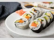 5 Ingredient Salmon & Avocado Sushi   Asian Inspirations