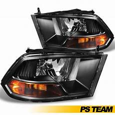 2016 Ram Light 2009 2016 Dodge Ram 1500 2500 3500 Halogen Black