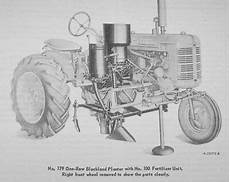 Ih International Farmall Super A 177 178 Planter Side