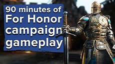 Steam Chart For Honor 90 Minutes Of For Honor Campaign Gameplay Live Stream