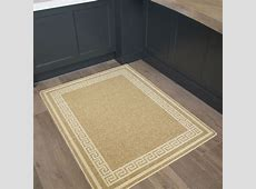 Plain Beige Mottled Machine Washable Rug Anti Slip Large Small Durable Mats   eBay