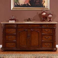 72 inch transitional single bathroom vanity with a