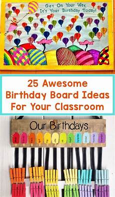 School Birthday Calendar 25 Awesome Birthday Board Ideas For Your Classroom