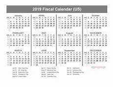 2020 Fiscal Year Calendar Calendar Page 4 Of 63 Free Printable 2019 Calendar