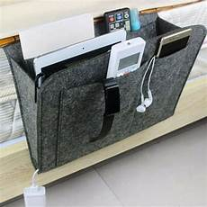 bedside pocket caddy hanging storage organizer bed desk
