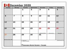 December 2020 Calendar With Holidays December 2020 Calendar Canada Michel Zbinden En