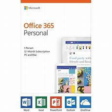 Ms Office Business Cards Microsoft Office 365 Personal 12 Month Subscription 1