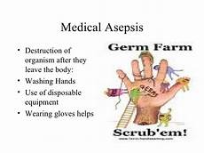 Medical Asepsis Infection Control