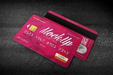 Credit Card Design Template Free Credit Card Mockup In Psd For Your Credit Card