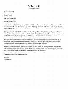 Email Cover Letter Sample For Job Application Cover Letter Formats Amp Formatting Advice That Will Win You