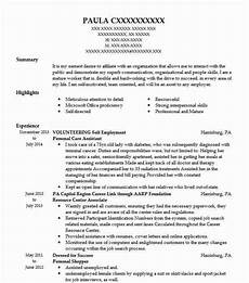 Aged Care Resume Samples Best Personal Care Assistant Resume Example Livecareer