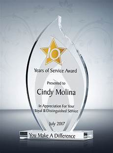Years Of Service Award Wording Quotes About 10 Years Of Service 25 Quotes