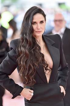 demi moore at the 2019 met gala celebrating c notes on