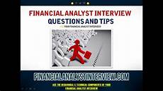 Budget Analyst Interview Questions Financial Analyst Interview Questions And Tips Youtube