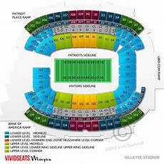 Gillette Stadium Soccer Seating Chart Gillette Stadium Tickets Vivid Seats