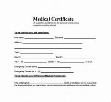 Medical Certificate Templates Top 5 Free Medical Certificate Templates Word Templates