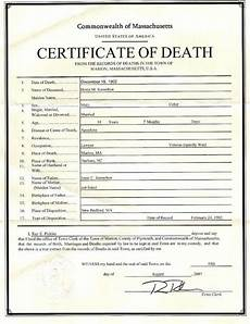 Death Certificate Print Out 5 Printable Certificate Of Death Templates With Samples