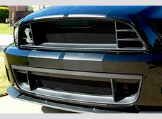 2013 14 Ford Mustang GT500 Mesh Grill Insert kit by