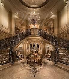 grand foyer grand foyer stairway wrought iron railings