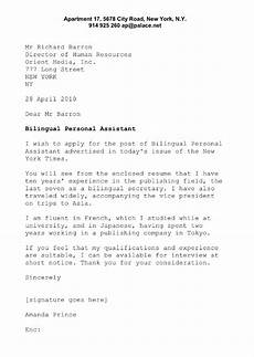 Business English Letter Sample Sample Cover Letter For Business English