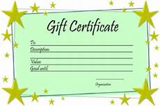 Make Gift Certificates Online Free 28 Cool Printable Gift Certificates Kittybabylove Com