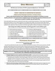 Career Overview Sample Career Change Resume For A New Industry Distinctive