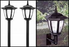 Led Yard Light Pole Mount Outdoor Solar Lights Post Landscape Or Wall Mount Led