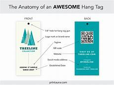 Hang Tag Design Template Anatomy Of An Awesome Clothing Hang Tag Templates