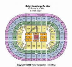 Schottenstein Center Concert Seating Chart Schottenstein Center Tickets In Columbus Ohio Seating