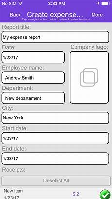 Travel Expense Reporting Travel And Expense Reporting App