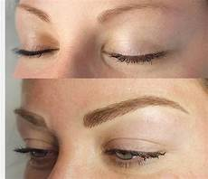 eyebrow microblading before after gallery
