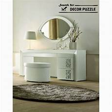 white modern dressing table designs for bedroom oval