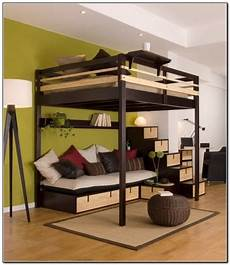 size bunk bed with desk foter