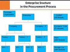 Sap Organizational Structure Sap Mm Organizational Structure In Sap Procurement