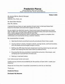 Cover Letter For Teller Position Investment Banking Cover Letter Sample