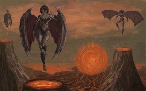 Evil Angel Down