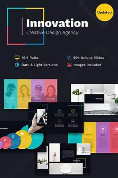 Free Creative Powerpoint Templates Innovation Creative Ppt For Design Agency Powerpoint