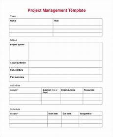 Free Project Management Template 17 Project Management Templates Docs Word Apple Pages