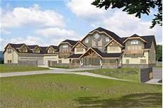 luxury home plan modern home design ghd 2045 9422